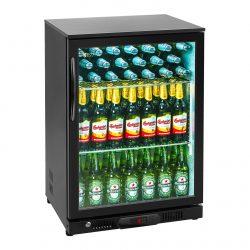 Chladnička na nápoje - 138 L - práškovaná oceľ (čierna) - 1