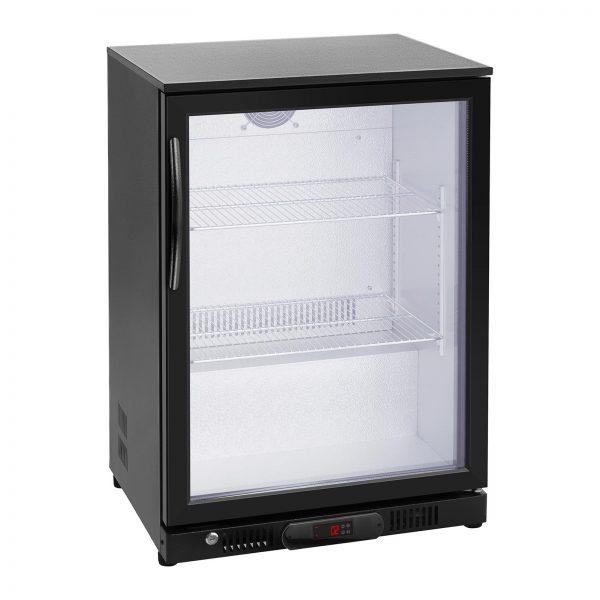 Chladnička na nápoje - 138 L - práškovaná oceľ (čierna) - 4