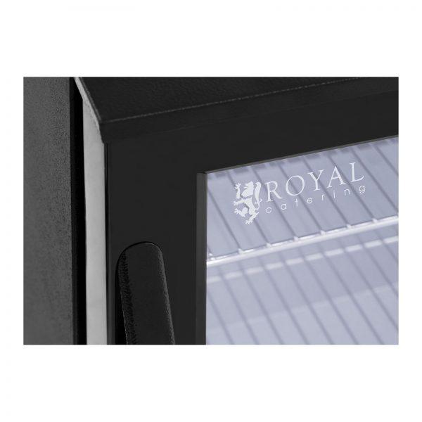 Chladnička na nápoje - 138 L - práškovaná oceľ (čierna) - 5