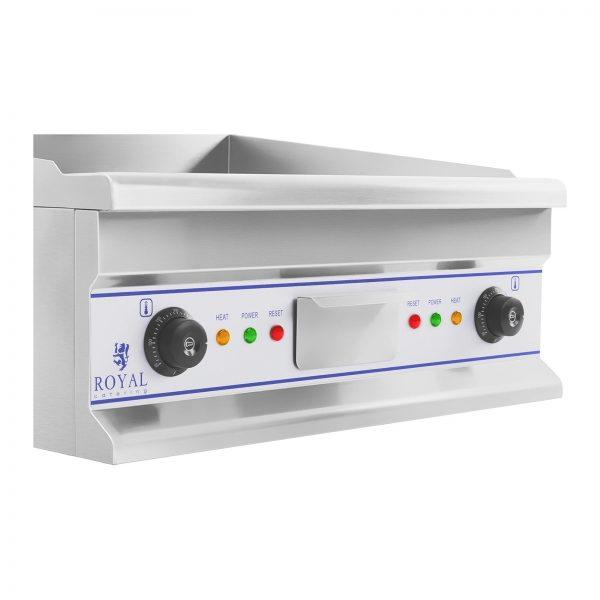 Dvojitá elektrická grilovacia platňa - 60 cm - hladká - 2 × 4000 W - 4