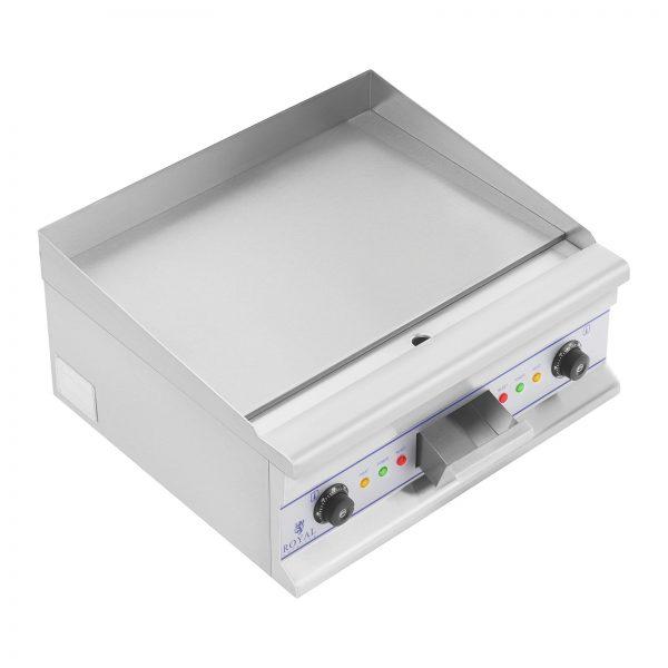 Dvojitá elektrická grilovacia platňa - 60 cm - hladká - 2 × 4000 W - 5