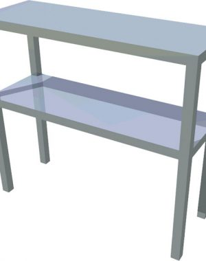 Dvojpolica stolová T-ASP-2 - 1