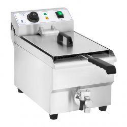Elektrická fritéza - 10 litrov s vypúšťacím kohútom -1