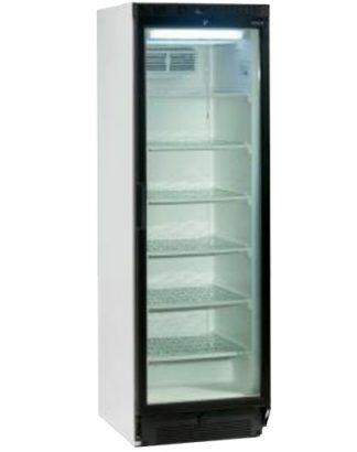 Mraziaca skriňa biela presklená ventilovaná 300 l, UFFS 370G - 1
