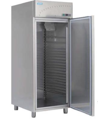 Mraziaca skriňa zmrzlinová nerezová ventilovaná 750 l, BLF-900 EC - 1