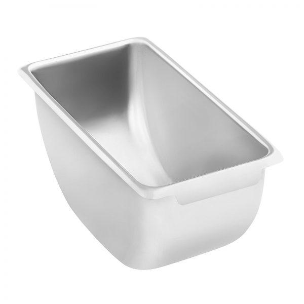 Nadstavba s nádobami na kuchynské prísady - ušľachtilá oceľ - 6 x 450 ml - 5