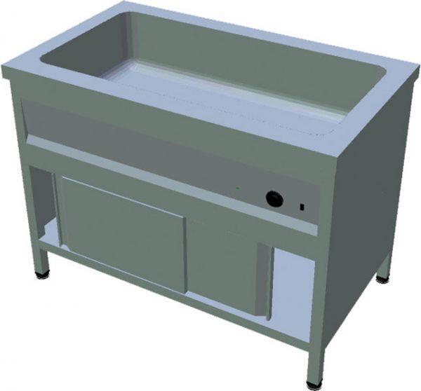 Ohrevný stôl na GN T-ASV-1L 3GN - 1