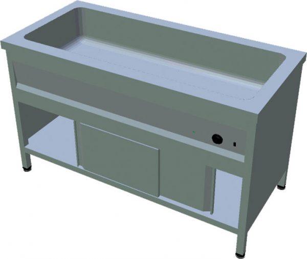 Ohrevný stôl na GN T-ASV-1L 4GN - 1