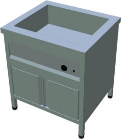 Ohrevný stôl na GN T-ASV-1Z 2GN - 1