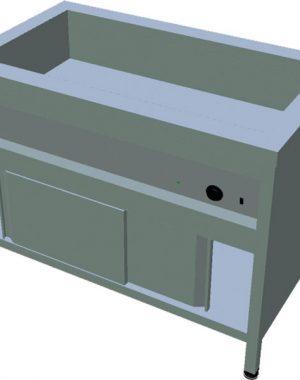 Ohrevný stôl na GN T-ASV-1Z 3GN - 1