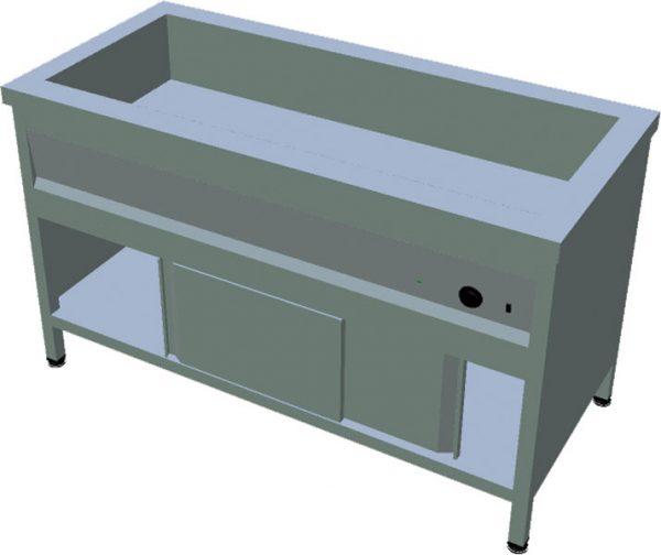 Ohrevný stôl na GN T-ASV-1Z 4GN - 1