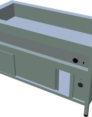 Ohrevný stôl na GN s ohrevnou skriňou T-ASV-RZ 4GN - 1