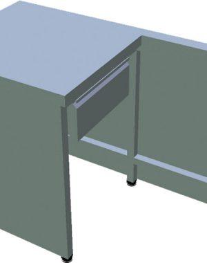 Pokladničný box otvorený T-PPZ-1 - 1