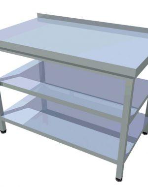 d50cd1897 Jednoduchý pracovný stôl dlhý T-ASJV-1 | Gastrokuchyne.sk