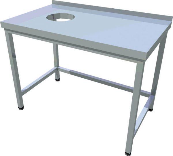 Pracovný stôl s otvorom T-ASJ-8 - 1