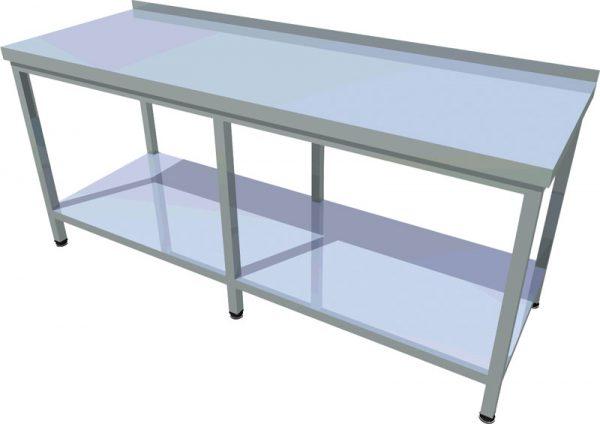 Pracovný stôl s policou dlhý T-ASJV-3 - 1