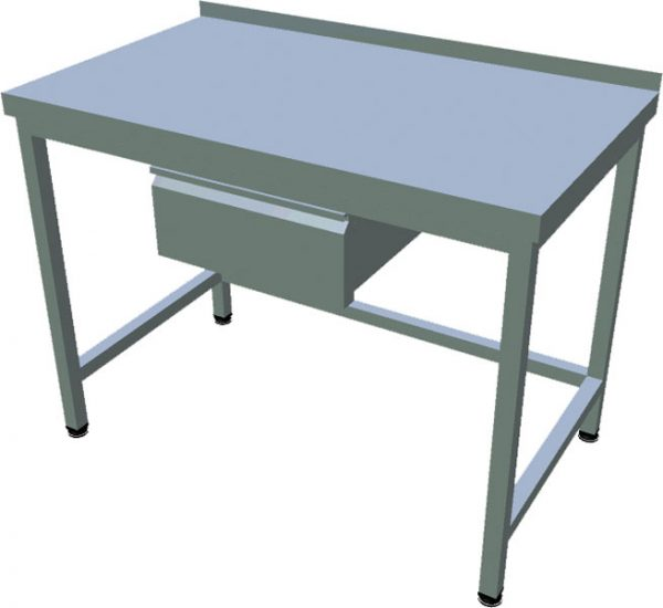 Pracovný stôl zo zásuvkou T-ASJ-1Z - 1