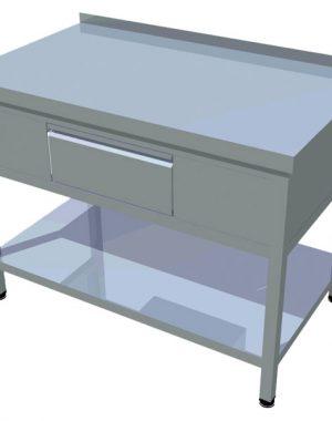 Pracovný stôl zo zásuvkou T-AZSP-1 - 1
