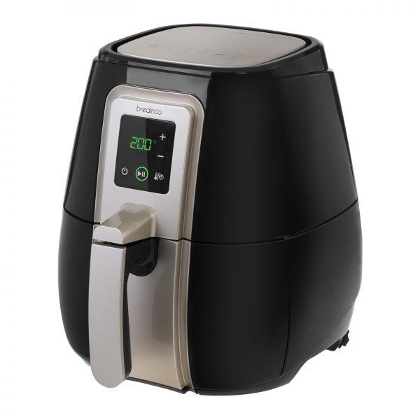 Teplovzdušná fritéza - 60-minútový časovač - dotykový displej - 2