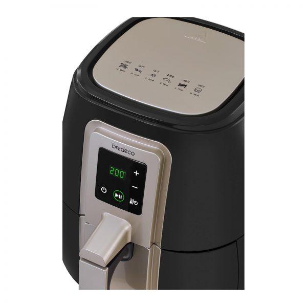 Teplovzdušná fritéza - 60-minútový časovač - dotykový displej - 6