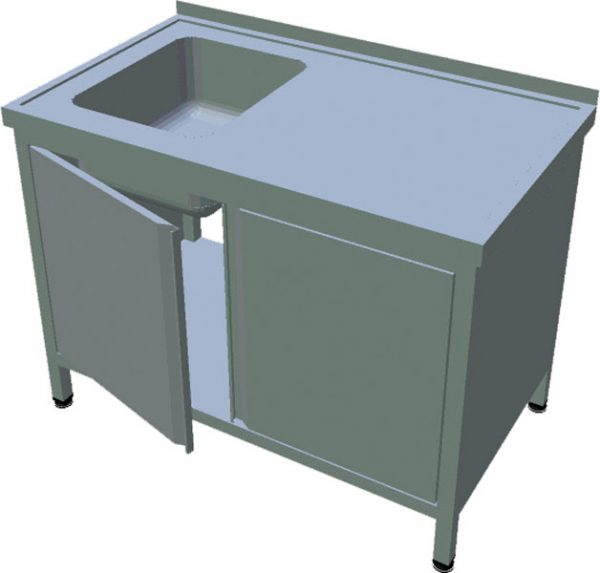 Umývací stôl s krytovaním T-AUSD-1 - 1