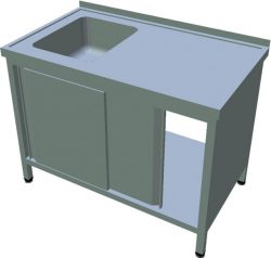 Umývací stôl s krytovaním T-AUSD-1S - 1