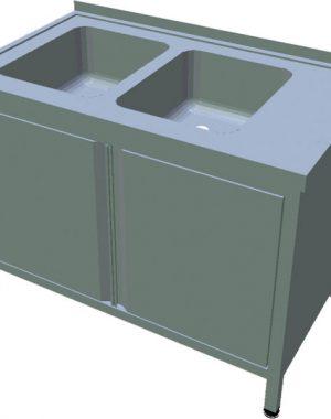 Umývací stôl s krytovaním T-AUSD-2 - 1