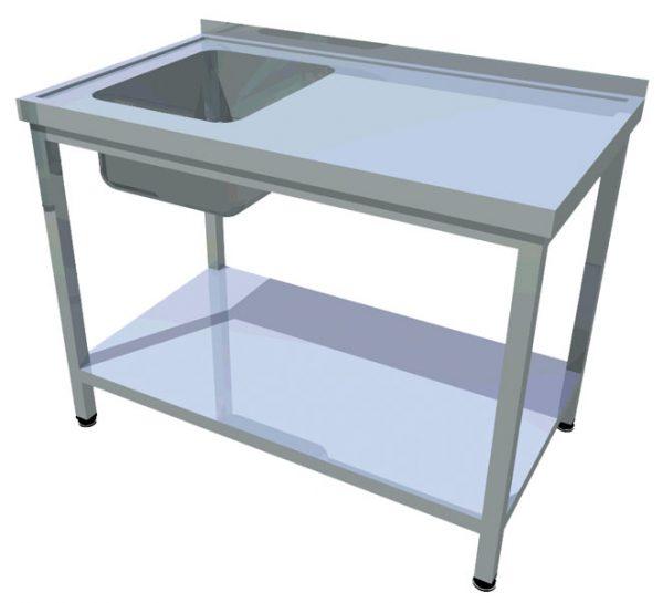 Umývací stôl s policou T-AUSP-1 - 1Umývací stôl s policou T-AUSP-1 - 1