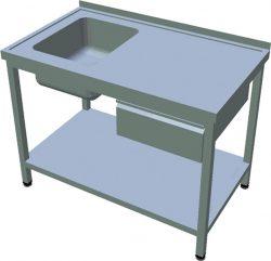 Umývací stôl so zásuvkou T-AUSP-1Z - 1