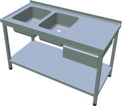 Umývací stôl so zásuvkou T-AUSP-2Z - 1