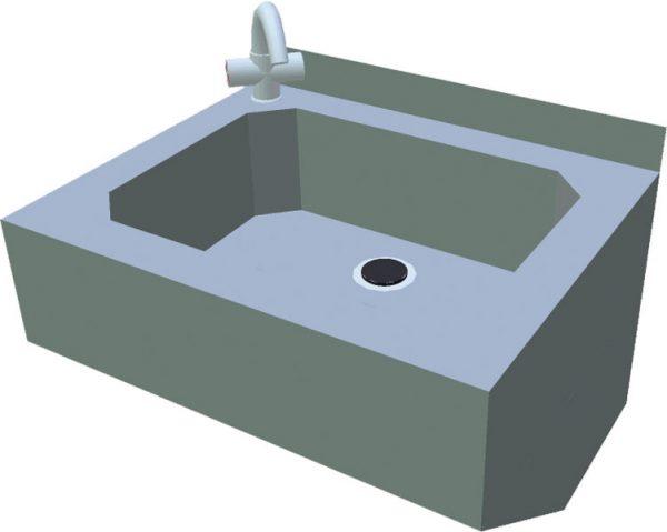 Umývadlo na ruky T-AZU - 1