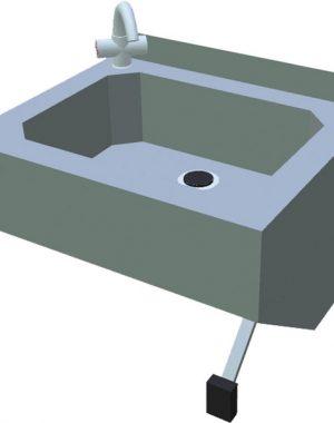 Umývadlo na ruky bezdotykové T-ZDKB - 1