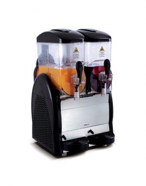 Výrobník ľadovej drte 2x12 litrov | HENDI 274224