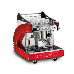 Automatický kávovar SYNCHRO - červený