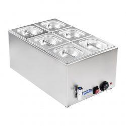 Bain Marie - gastronádoba - 16 - vypúšťací kohútik - 1