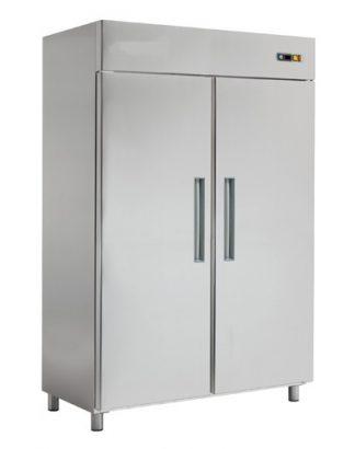 Chladnička nerezová dvojdverová ventilovaná 1400 l, RT-1402L - 1