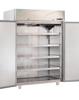 Chladnička nerezová dvojdverová ventilovaná 1500 l, LS-140X1 - 1