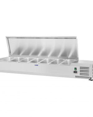 Chladiaca nadstavba - 150 x 33 cm - 7 GN nádob 14 - 1