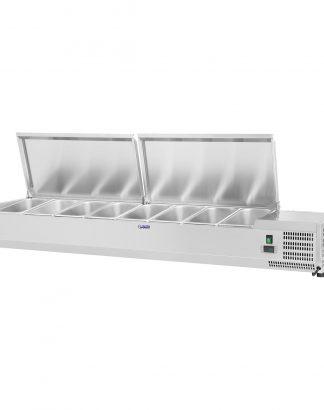 Chladiaca nadstavba 160 x 33 cm - 8 GN nádob 14 - 1