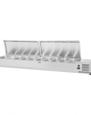 Chladiaca nadstavba- 200 x 33 cm - 10 GN nádob 14 - 1