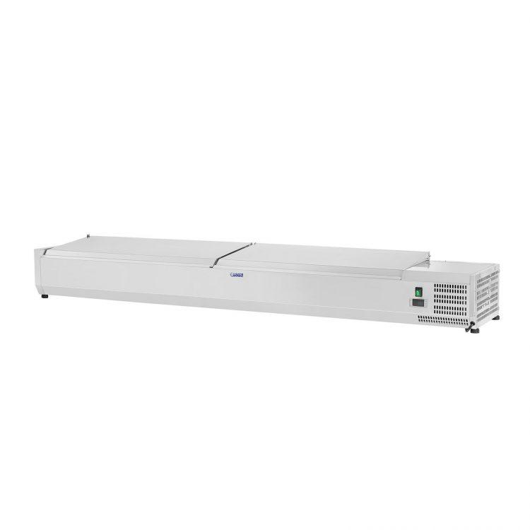 Chladiaca nadstavba- 200 x 33 cm - 10 GN nádob 14 - 2