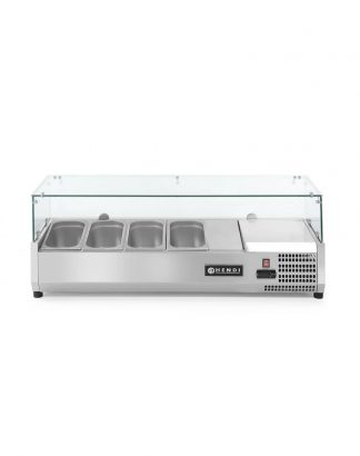 Chladiaca stolová vitrína 4x GN 1/3-150 mm Hendi 232965