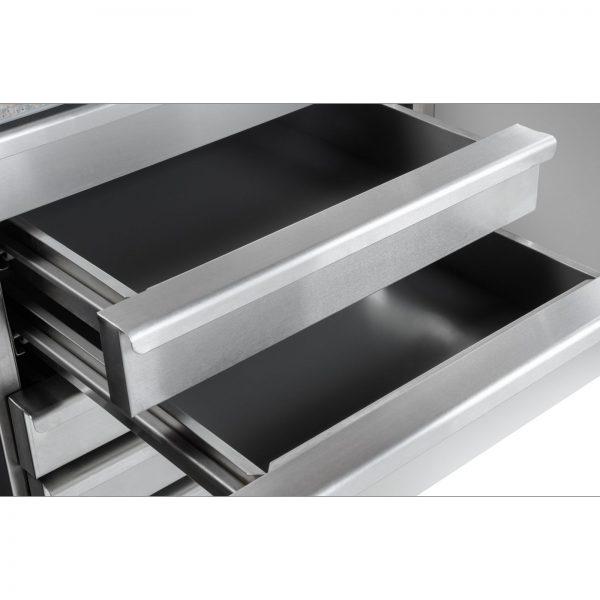 Chladiaci stôl na pizzu - 202 x 80 cm - 5