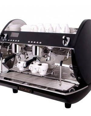 Kávovar dvoj pákový Carat Display control-2P TS BL - 1