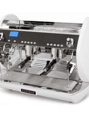 Kávovar dvoj pákový Carat Display control-2P TS WH - 1Kávovar dvoj pákový Carat Display control-2P TS WH - 1