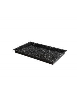 Smaltovaný plech GN 2/1 - 40mm | Hendi 890141