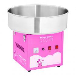 Stroj na cukrovú vatu - 52 cm - 1 200 W - ružový 1