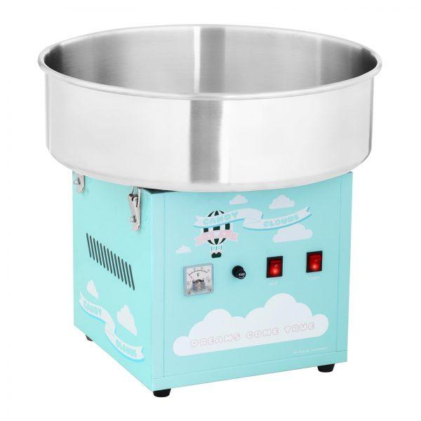 Stroj na cukrovú vatu - 52 cm - 1 200 W - tyrkysový 1