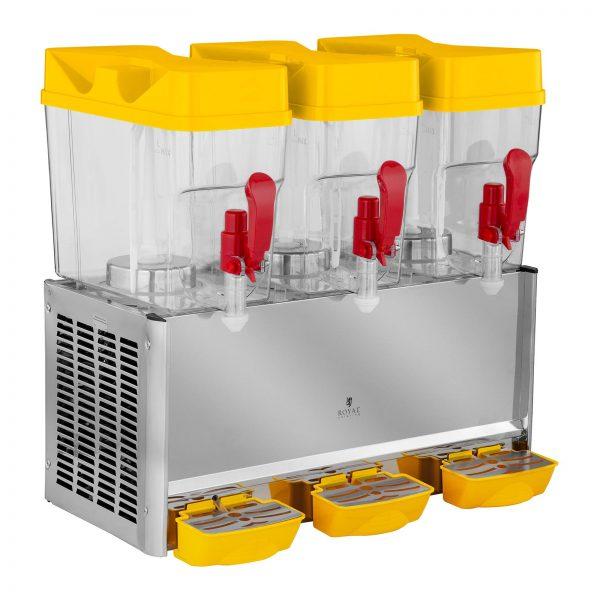 Čerič chladených nápojov - 3 x 18 litrov - 1