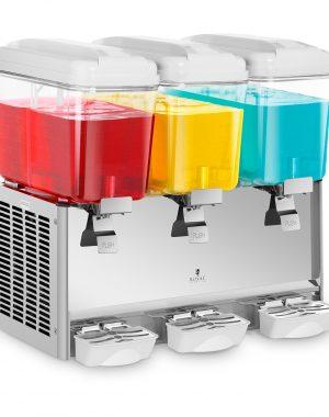 Čerič dávkovač chladených nápojov - 3 x 18 litrov RCSD-54C - 1